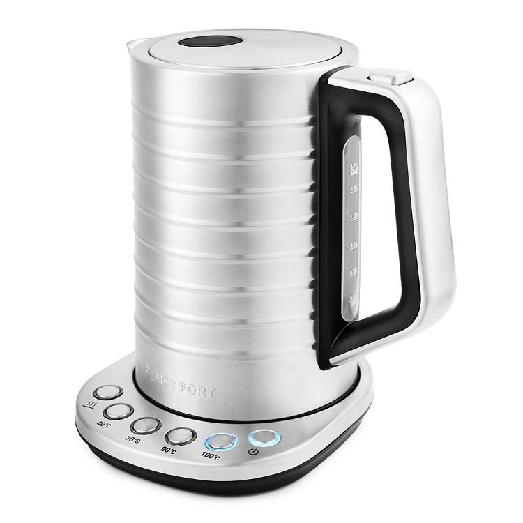 Чайник Kitfort КТ-649 2200 Вт, 1.7 л чайник kitfort кт 681 white