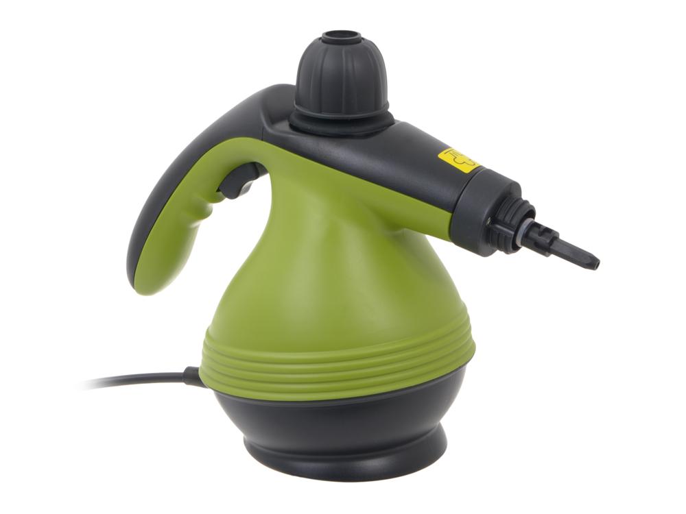 Пароочиститель KITFORT KT-906, 1200Вт зеленый цена и фото