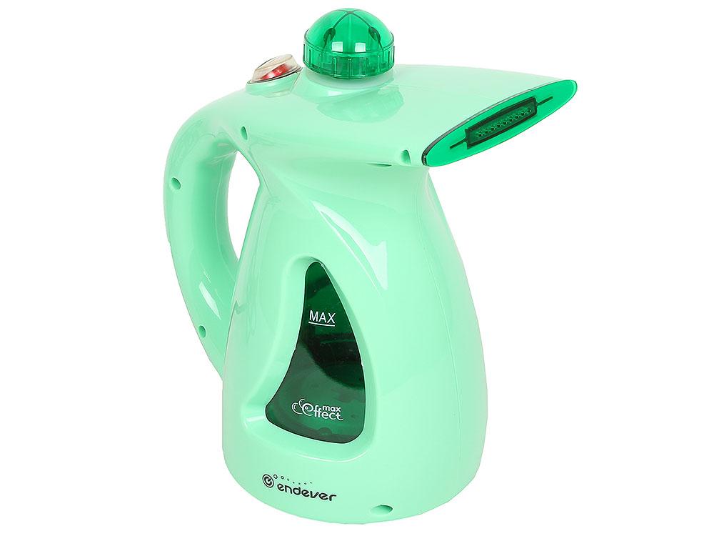 Отпариватель ручной Endever ODYSSEY Q-416 750Вт, емкость 0.5л, подача пара 20 г/мин, темп. пара 98°C, зеленый отпариватель endever odyssey q 416