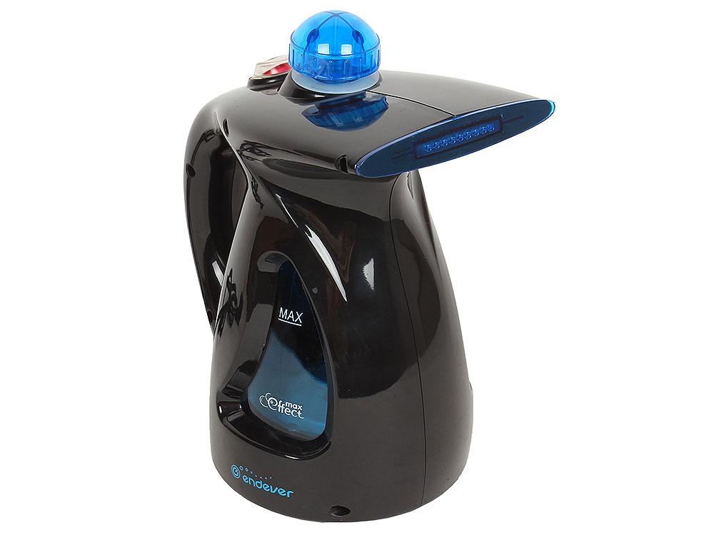Отпариватель ручной Endever ODYSSEY Q-417 750Вт, емкость 0.5л, подача пара 20 г/мин, темп. пара 98°C, черный цены онлайн