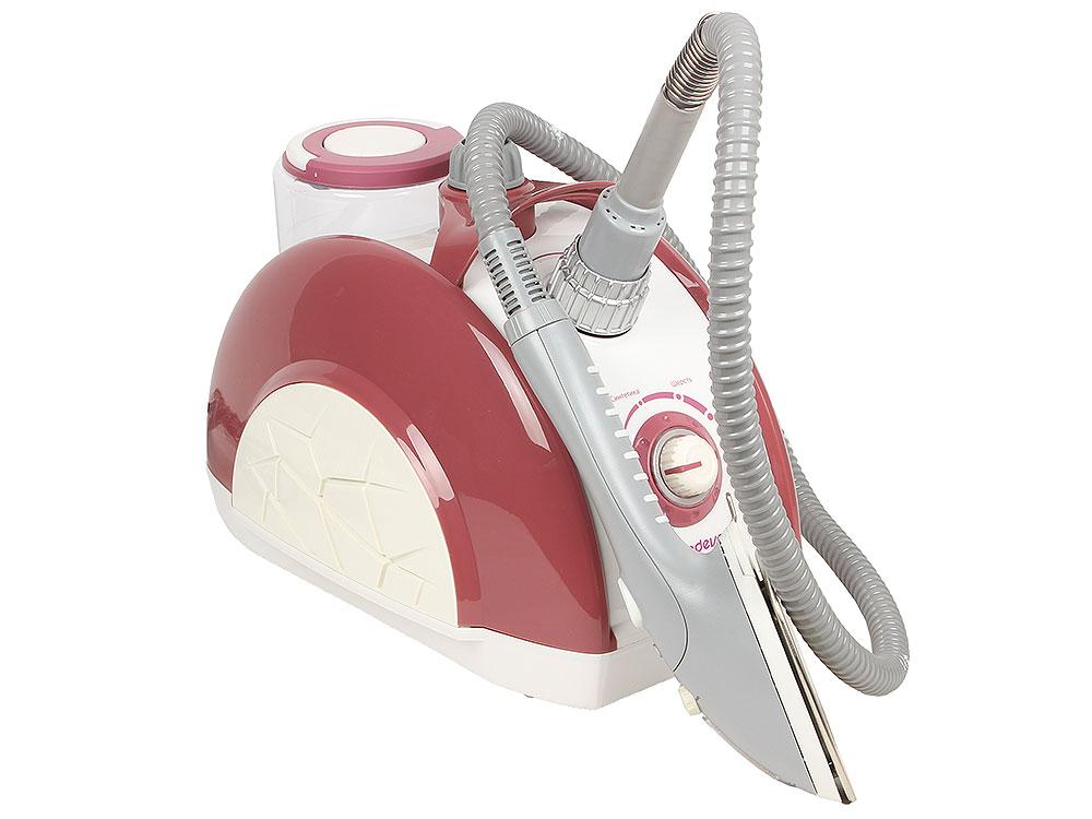 Отпариватель Endever ODYSSEY Q-912, 1960Вт, давление пара 1,5 бар, про-сть пара 45 г/мин, емкость бака 1200 мл, розовый металлик цены