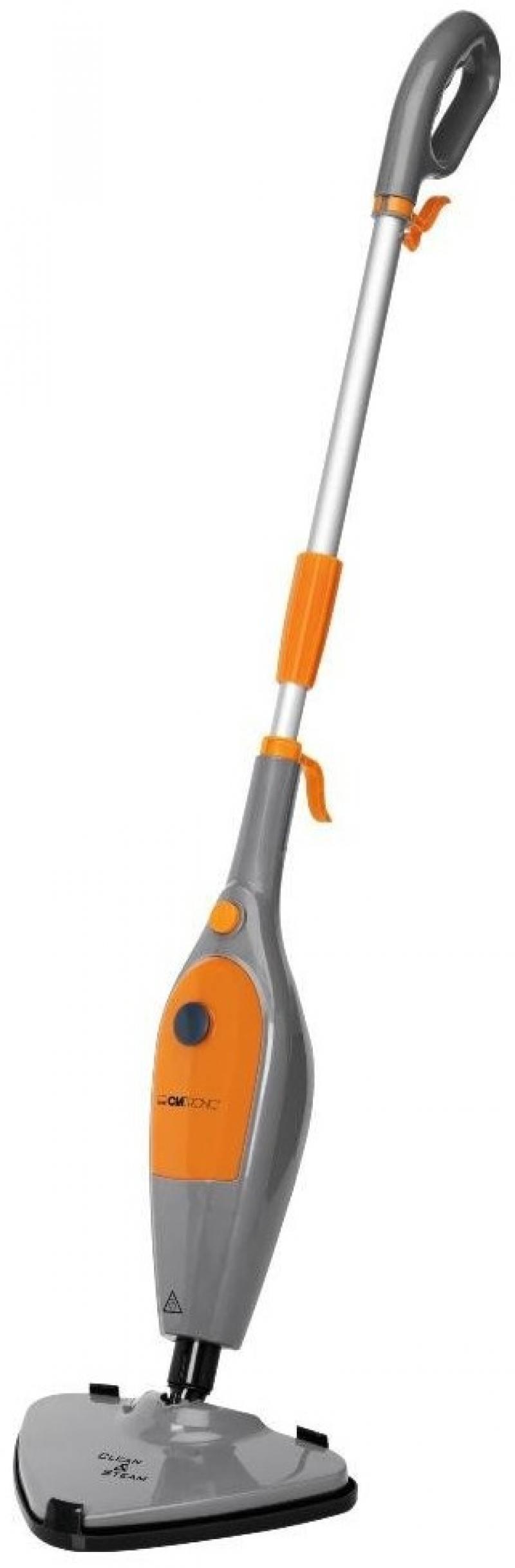 Паровая швабра Clatronic DR 3539 серо-оранжевый цена и фото