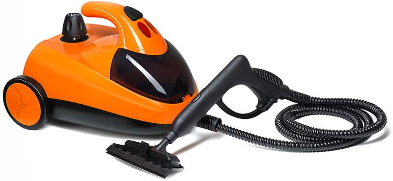 Пароочиститель KITFORT КТ-908-3 1500Вт оранжевый чёрный пароочиститель kitfort кт 1001 2 бирюзовая