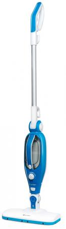 Паровая швабра Kitfort КТ-1005-1 голубой 1500 Вт цена