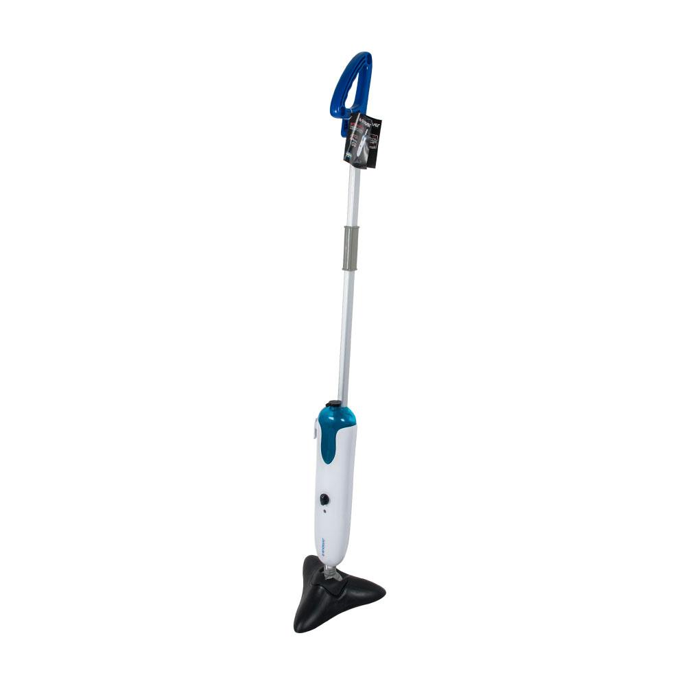 Паровая швабра Endever ODYSSEY Q-604, бело-синий 900 Вт, давление пара  0,3-0,5 бар, емкость бака 500 мл