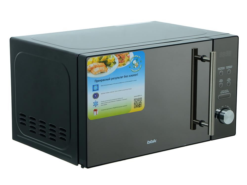 Микроволновая печь BBK 20MWG-732T/B-M, гриль, 20л, эл. управ, 700Вт, черный цена 2017