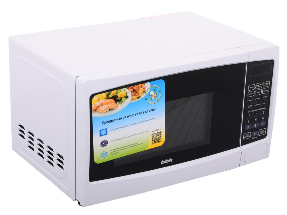 лучшая цена Микроволновая печь BBK 20MWS-726S/W