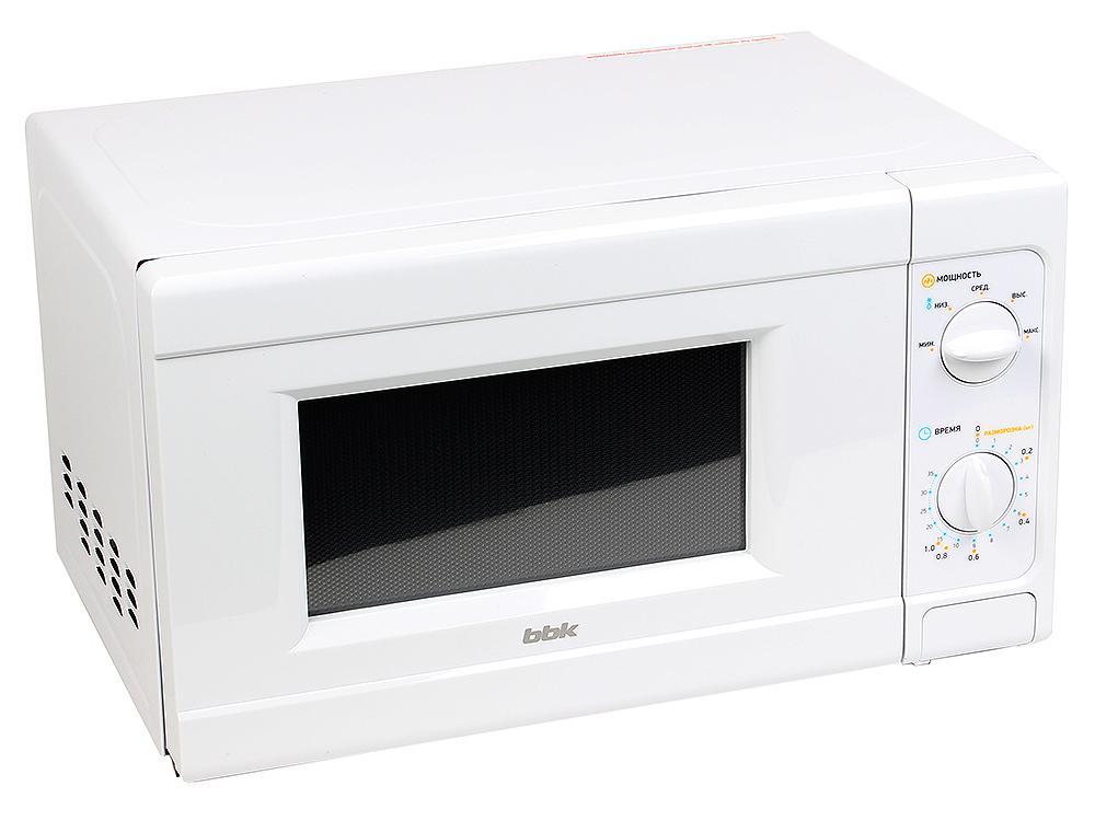 Микроволновая печь BBK 20MWS-705M/W микроволновая печь bbk 23mws 927m w 900 вт белый