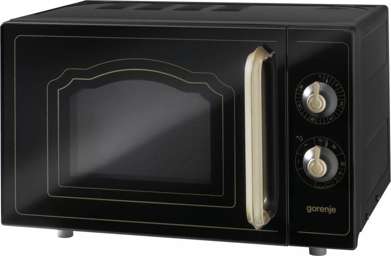 Микроволновая печь Gorenje MO4250CLB 700 Вт чёрный микроволновая печь lg mb 40r42ds 700 вт серебристый