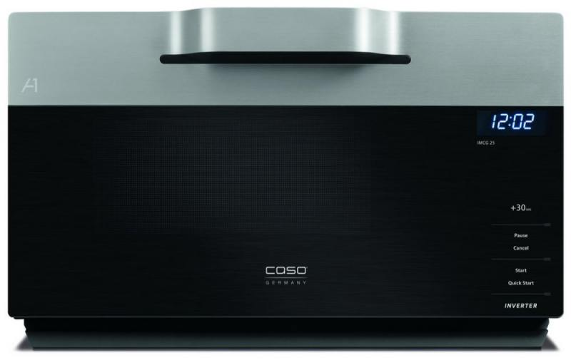 Микроволновая печь CASO IMCG 25 900 Вт серебристый цена