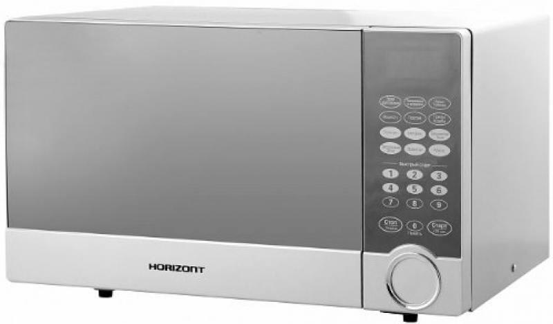 все цены на Микроволновая печь Horizont 23MW800-1479CBS 800 Вт серебристый онлайн