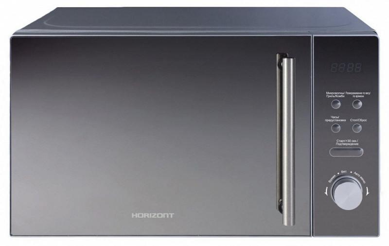 Микроволновая печь Horizont 20MW700-1479BKB свч horizont 20mw700 1478biw 750 вт серебристый