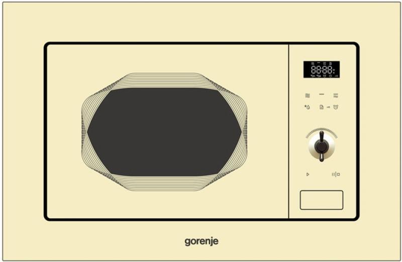 Встраиваемая микроволновая печь Gorenje BM201INI вытяжка встраиваемая gorenje bhp623e12x