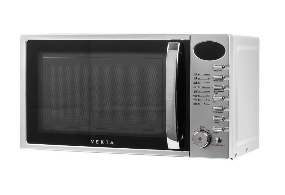 Микроволновая печь Vekta TS720ATS 700 Вт серебристый микроволновая печь beko mgb 25333 bg