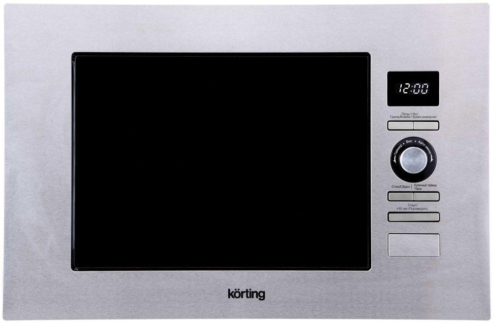 лучшая цена Встраиваемая микроволновая печь Korting KMI 720 X