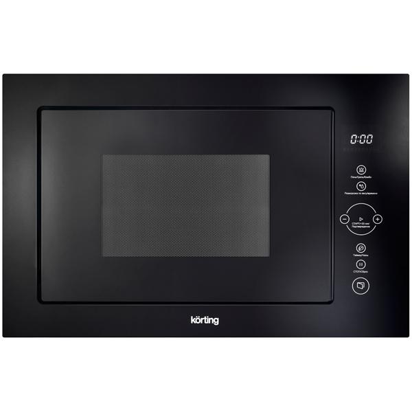 все цены на Встраиваемая микроволновая печь Korting KMI 825 TGN онлайн
