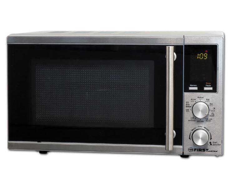 Микроволновая печь First FA-5002-3 Steel 700 Вт, 20 л