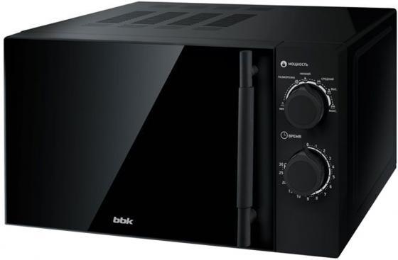 Микроволновая Печь BBK 20MWS-773M/B-M G черный 20 л, 700 Вт цена и фото