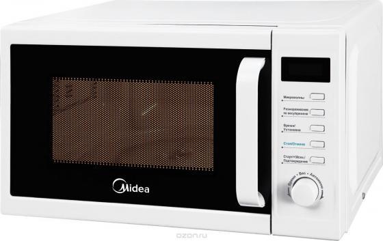 цена на Микроволновая печь Midea AM820CUK-W белый 800 Вт, 20 л