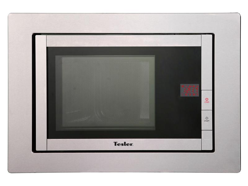 Встраиваемая микроволновая печь TESLER MEB-2070X микроволновая печь tesler mm 1714 white