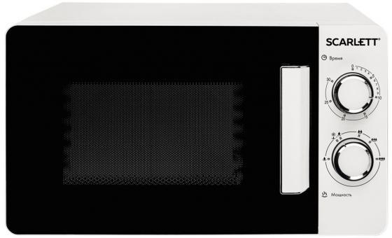 Микроволновая Печь Scarlett SC-MW9020S03M белый 700 Вт, 20 л микроволновая печь scarlett sc mw9020s02m