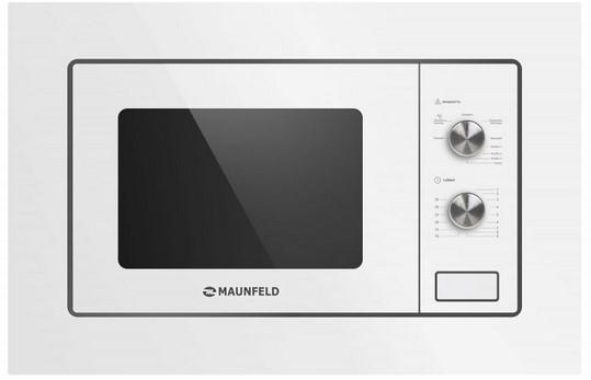 Микроволновая печь Maunfeld MBMO.20.2PGW белый 800 Вт, 20 л микроволновая печь bbk 23mws 927m w 900 вт белый