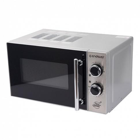 Микроволновая печь ENDEVER Danko 2005 серебристый 700 Вт, 20 л