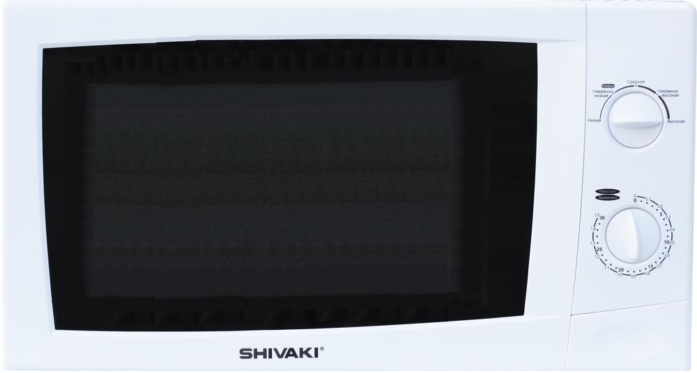 Микроволновая печь SHIVAKI SMW2012MW 700 Вт, 20 л цена и фото