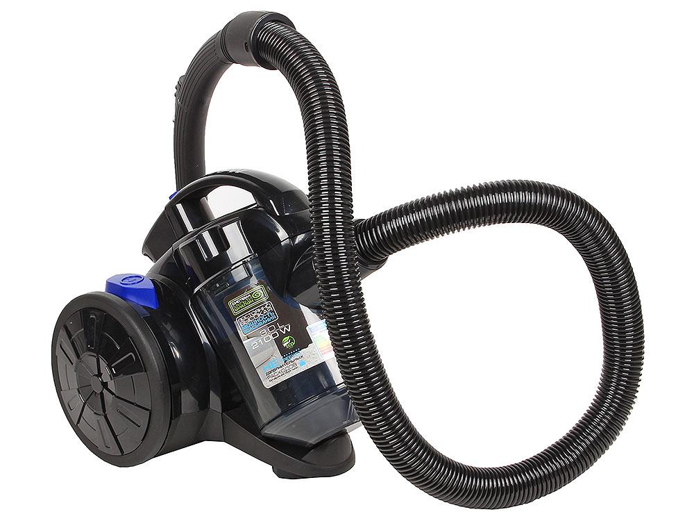 Пылесос Endever VC-520 без мешка, циклон, 2100 Вт, 360 Вт мощность всасывания, HEPA-фильтр, фильтр мульти-циклон, прозрачный пылесборник 3л цены онлайн