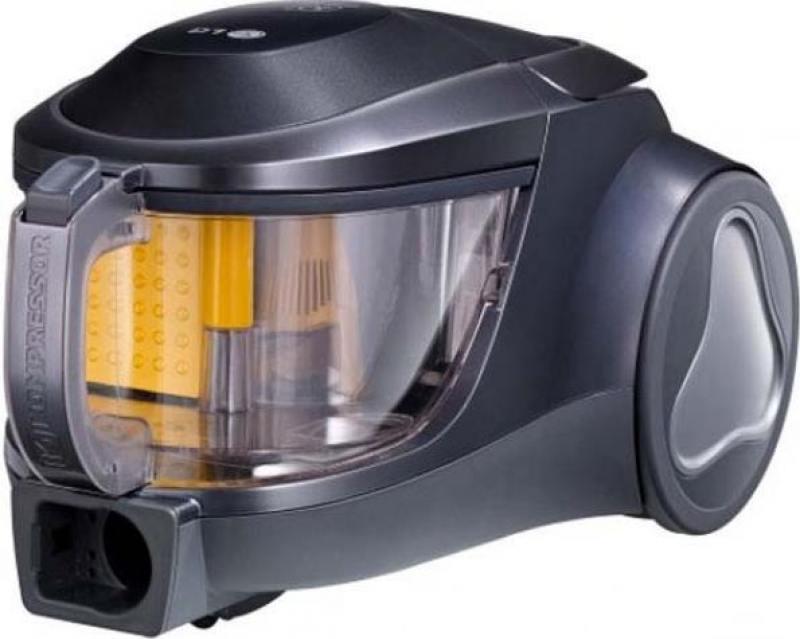 Пылесос LG VK76W02HY серебристый, 2000/380, без мешка [VK76W02HY] цена и фото