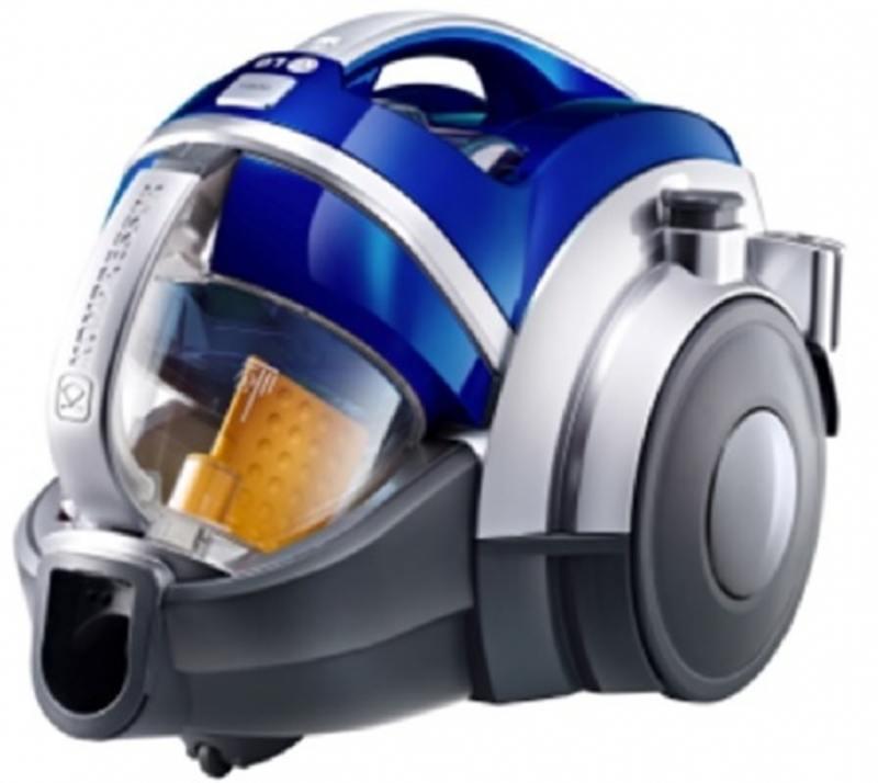 Пылесос LG VK89601HQ синий, 2000/420, без мешка [VK89601HQ] цена и фото