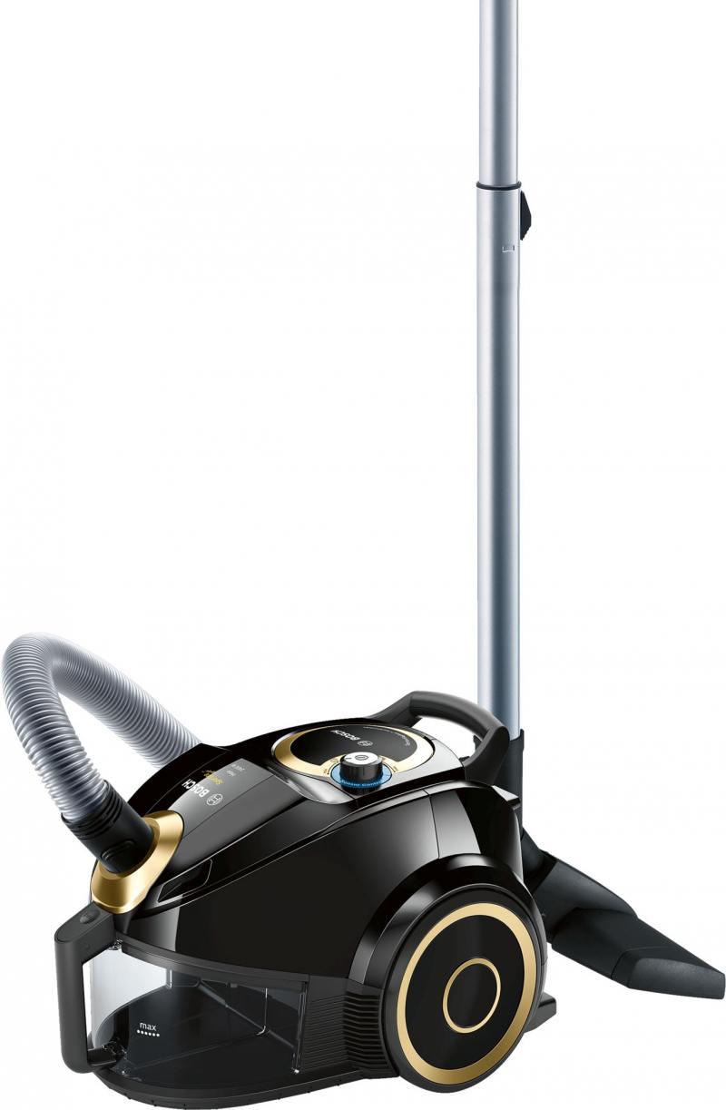 лучшая цена Пылесос Bosch BGS4UGOLD4 сухая уборка чёрный