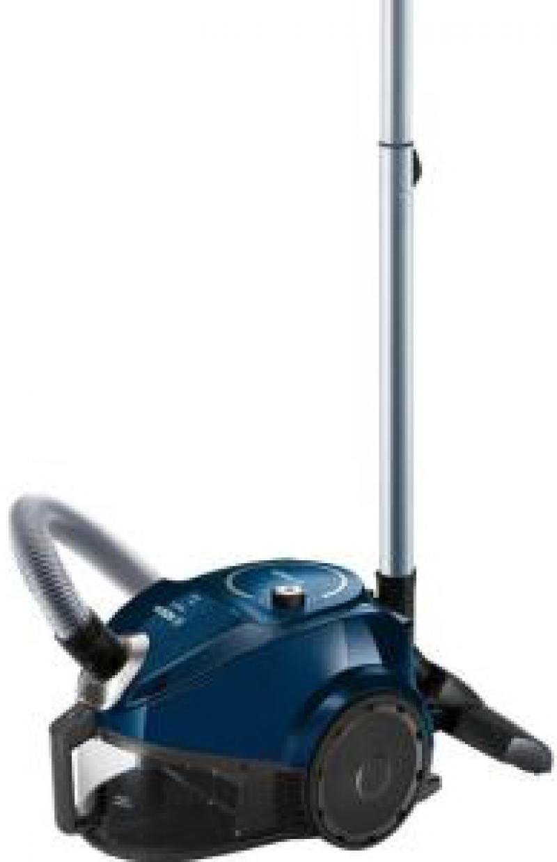 лучшая цена Пылесос Bosch BGS3U1800 сухая уборка чёрный синий