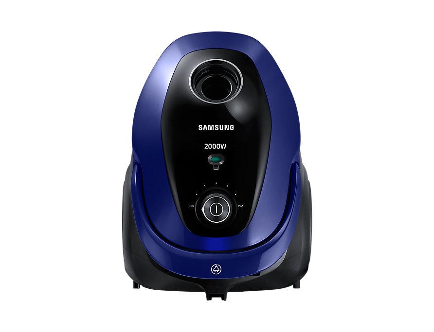 Пылесос Samsung SC20M251AWB сухая уборка синий пылесос samsung v sc24jvnjgbj сухая уборка голубой чёрный