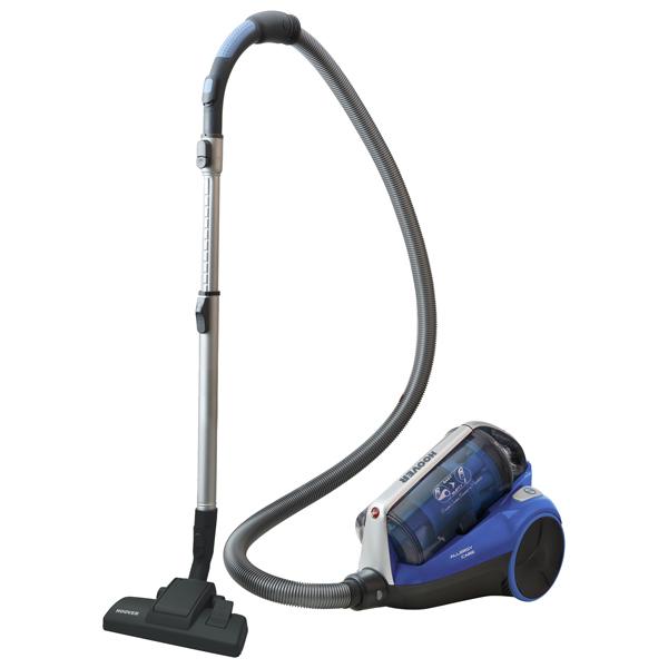 Пылесос Hoover TRE1420 019 без мешка сухая уборка синий 1400 Вт пылесос orion пцт п01 сухая уборка чёрный синий