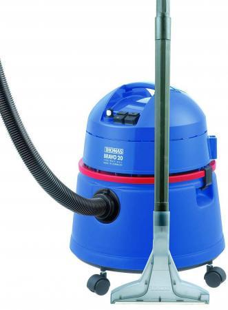 Пылесос Thomas Bravo 20 сухая и влажная уборка синий 1400 Вт
