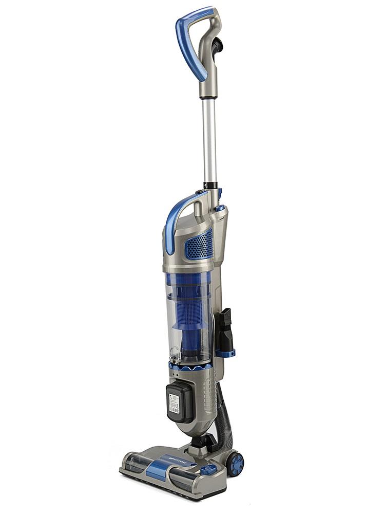 Пылесос вертикальный KITFORT KT-521-2, 170 Вт., аккум. 2000 мАч., без мешка, синий/серый [KT-521-2]