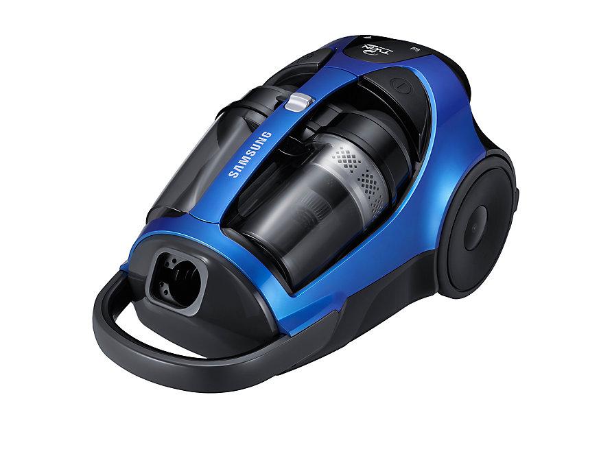 Пылесос Samsung SC8836 синий 2200/430 Вт, без мешка, телескопическая труба пылесос lumme lu 3206 2200 300вт без мешка черный синий
