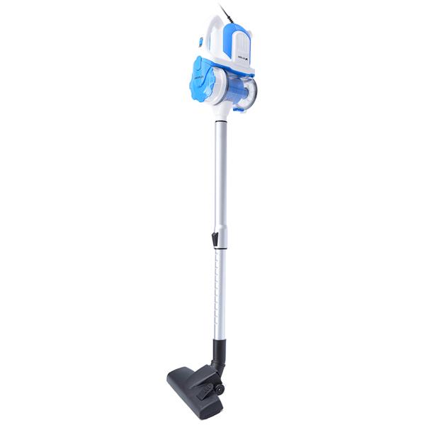все цены на Пылесос вертикальный KITFORT KT-524-2, 600 Вт, 2в1, голубой [KT-528] онлайн