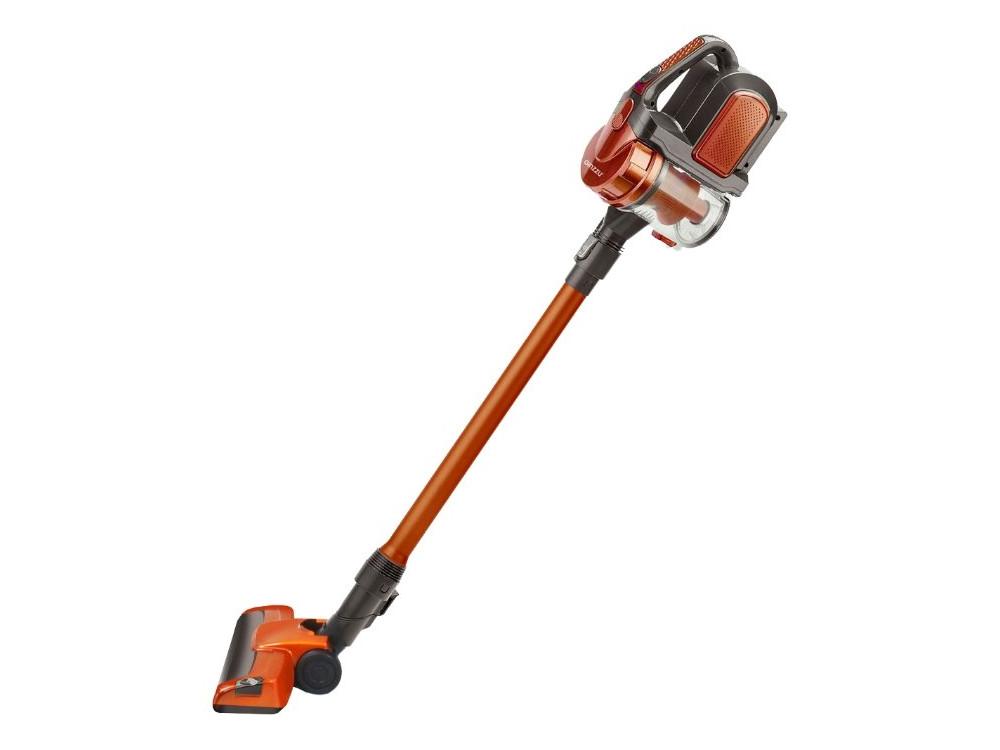 лучшая цена Пылесос Ginzzu VS401 Оранжевый 100 Вт, циклонный фильтр, 0,8 л, 68 дБ