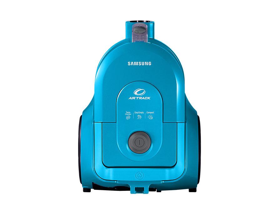 Пылесос Samsung VCC4326S3A голубой 1600/360Вт, без мешка, набор насадок, телескопическая труба, длина шнура 6м цена и фото