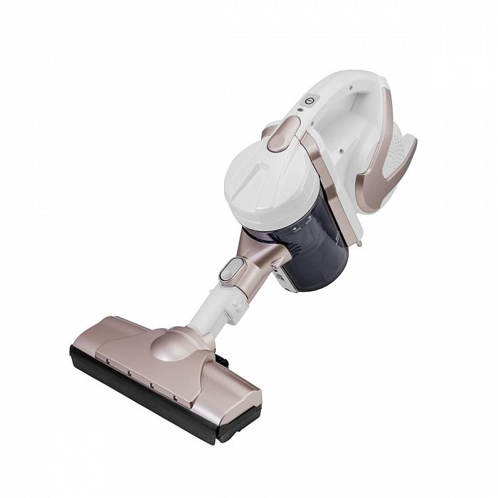 Пылесос UNIT UVC-5220,Цвет: Бронзовый металлик; вертикальный, 150Вт, аккумулятор Li-ion, 22.2V, 2200mAh, турбо-щетка, Циклон, HEPA фильтр вертикальный пылесос unit uvc 5210 морская волна
