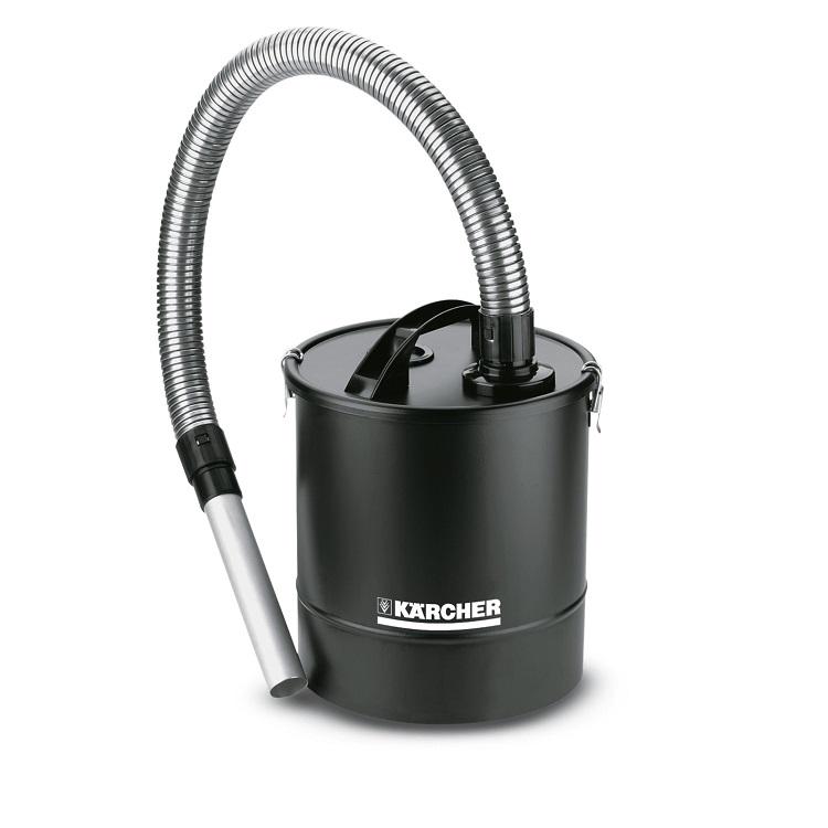 Картинка для Аксессуар для пылесосов Karcher WD 2.863-161.0 зольный фильтр Premium, 20 л., шланг 1 м., для очистки каминов, грилей, банных печей