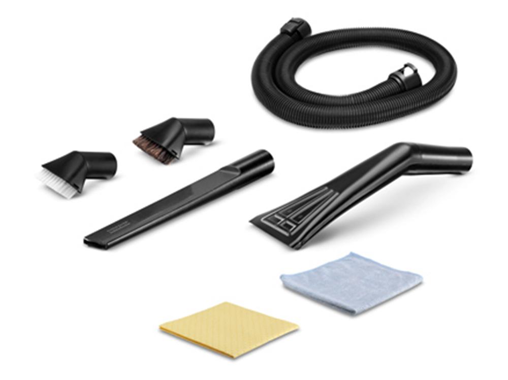 цена на Аксессуар для пылесосов Karcher 2.863-225.0 комплект для уборки автомобиля, 7 предметов