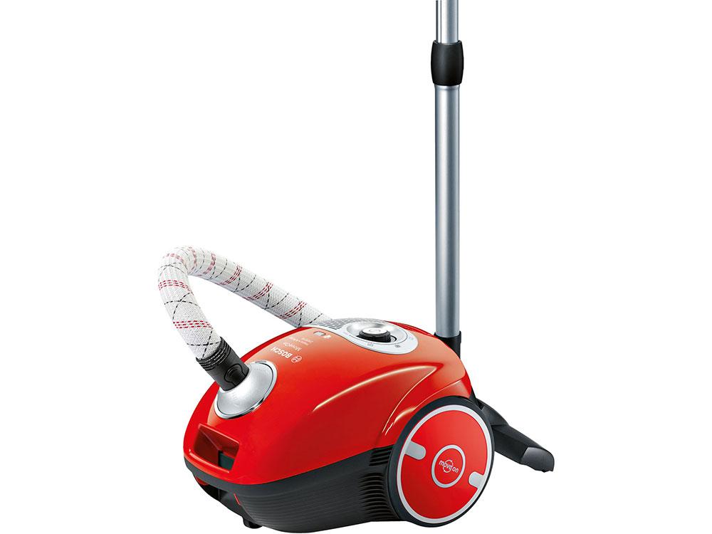 Пылесос Bosch BGL35MOV25 сухая уборка красный