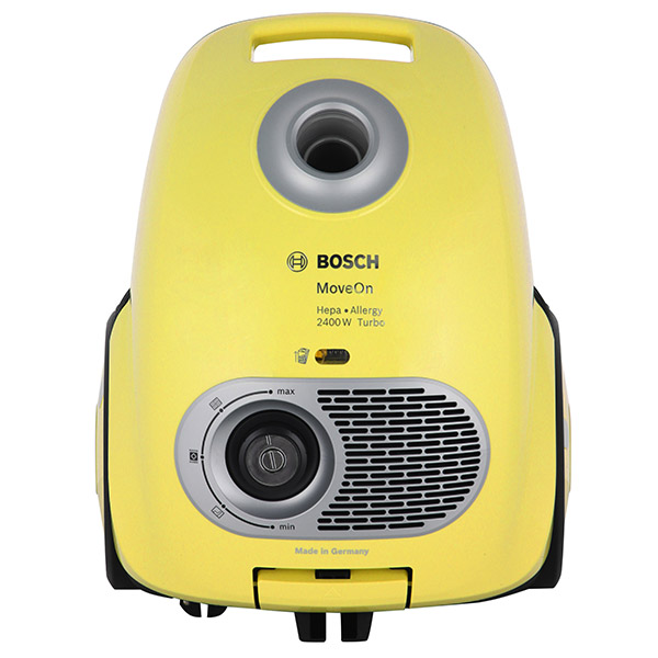 Пылесос Bosch BGL35MOV41 желтый 2400 Вт цена и фото