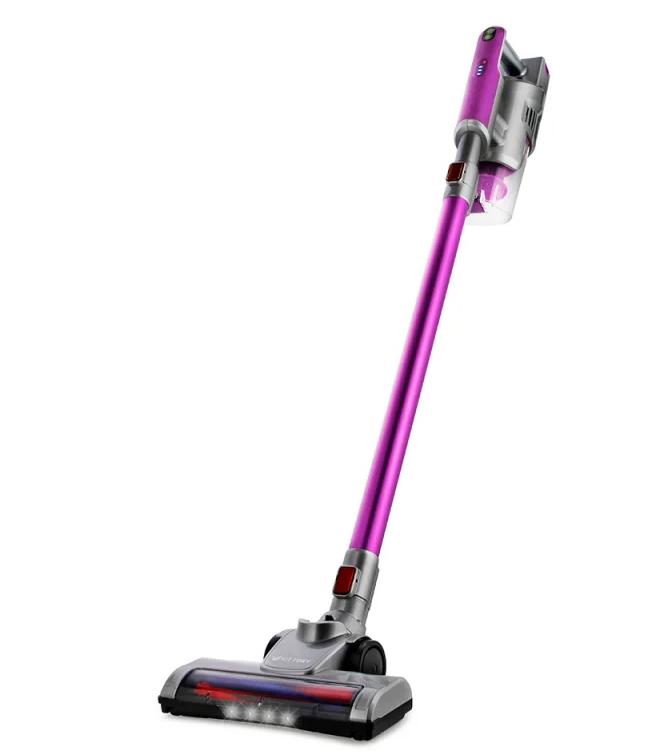 цена на Пылесос ручной Kitfort КТ-536-2 фиолетовый/серый 120 Вт