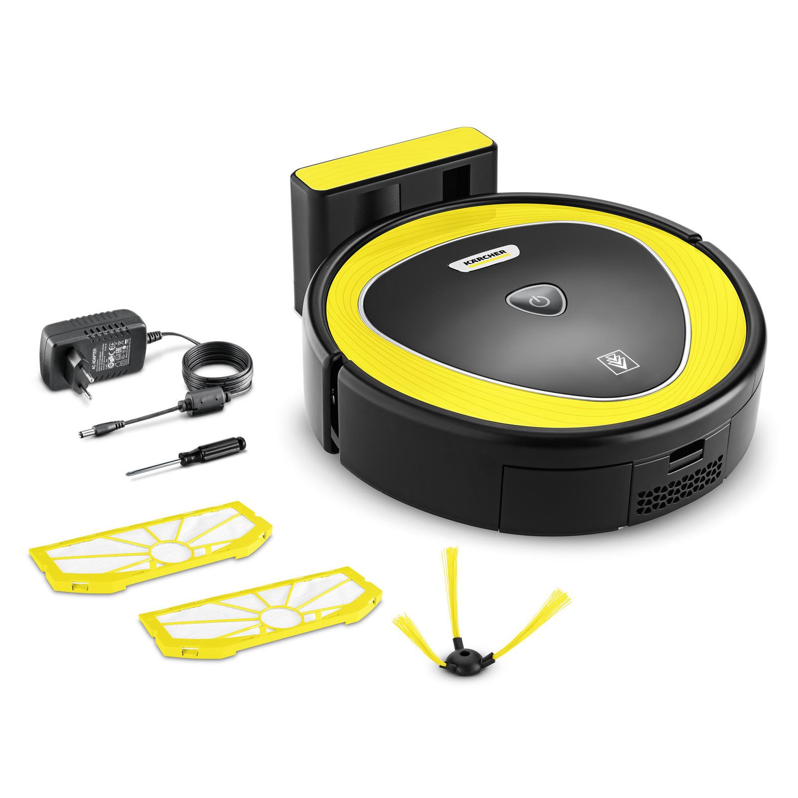 цена на Робот-пылесос Karcher RC 3, аккум на 90 - 120 мин., объём пылесборника 350 мл.