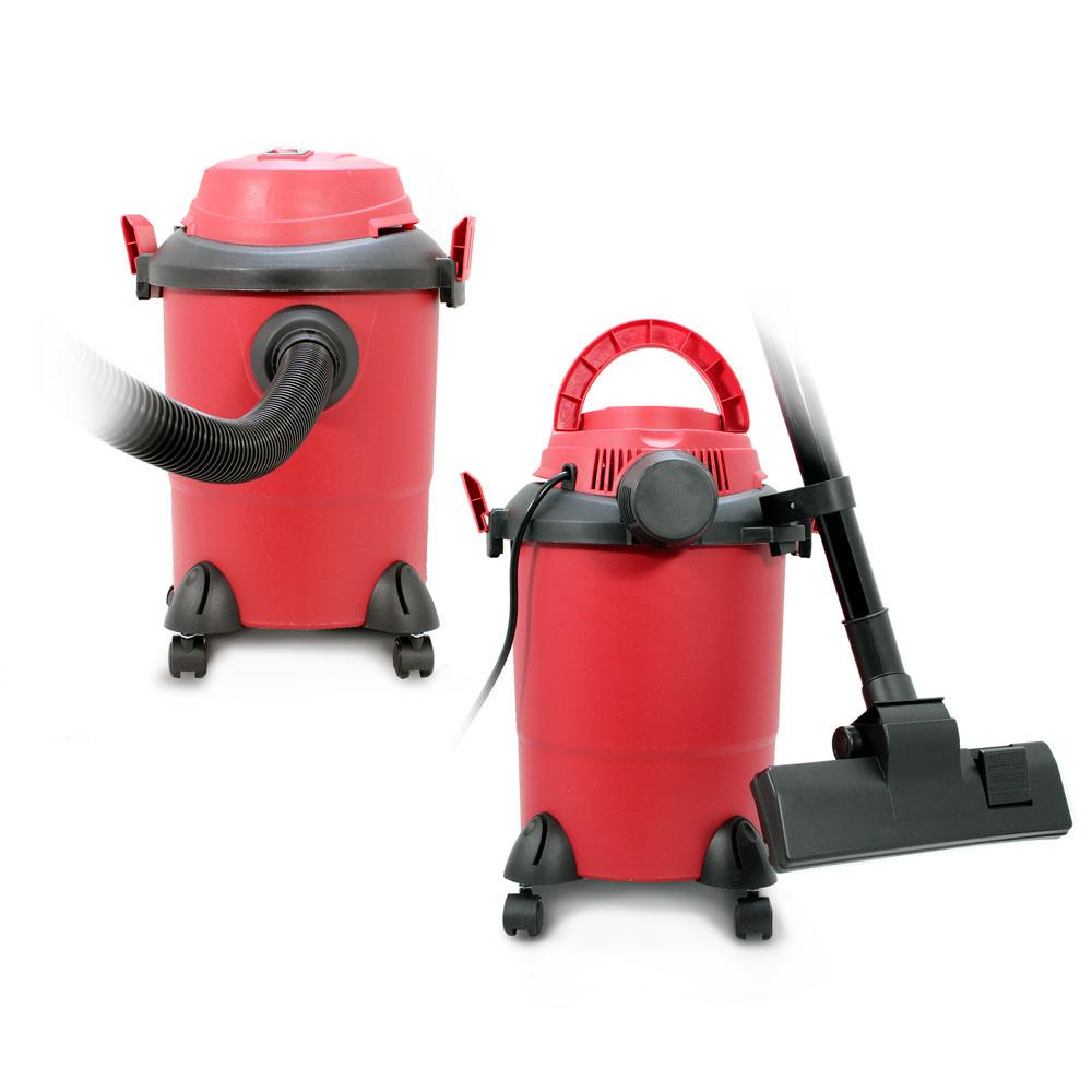 цена на Пылесос Ginzzu VS311 Красный 1250 Вт, 12 л, 80