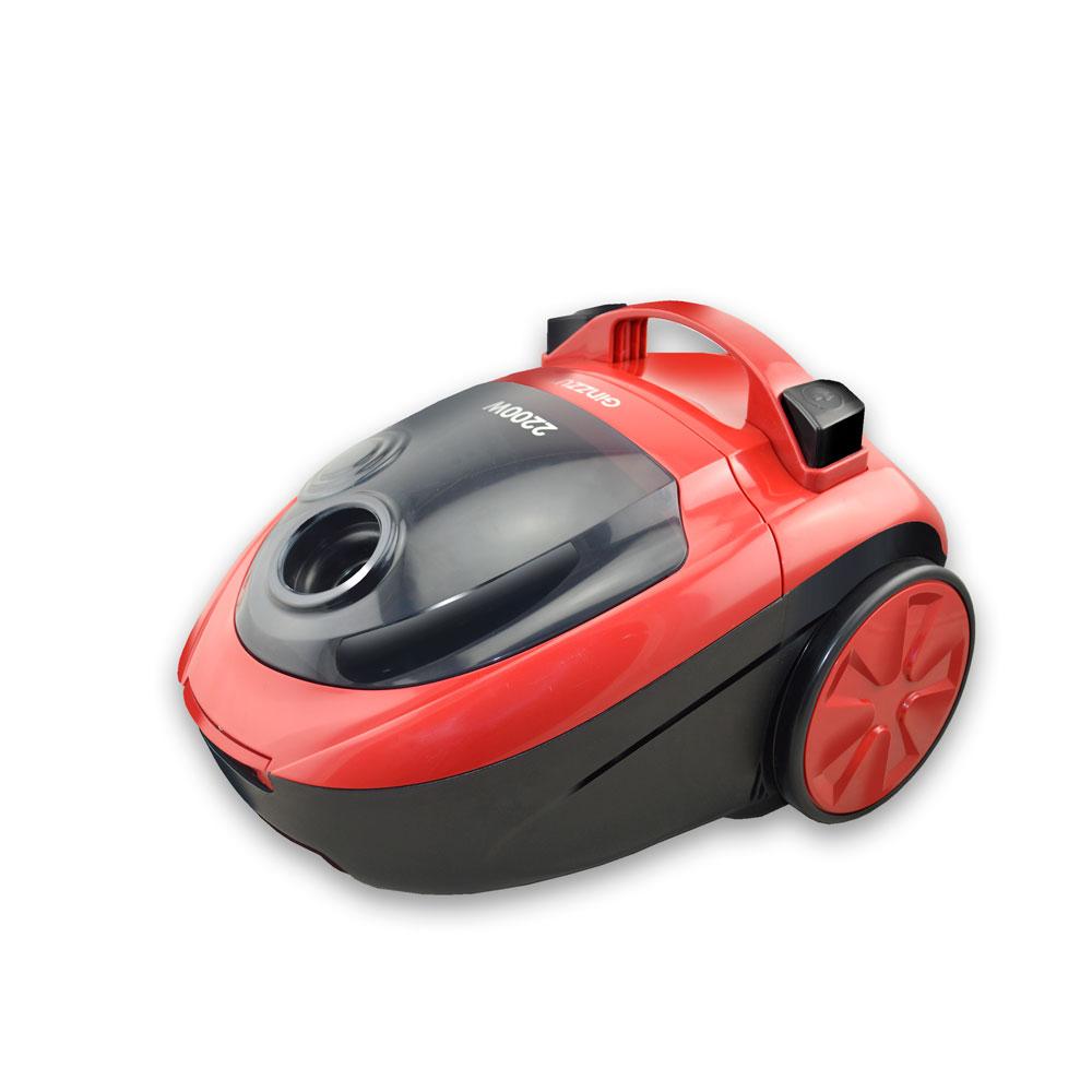 Пылесос Ginzzu VS451 Красный 2200 Вт, мешок/контейнер, 2,5 л, 72 дБ цена